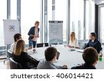 business people laughing at... | Shutterstock . vector #406014421