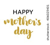 happy mother's day funny... | Shutterstock .eps vector #406025401