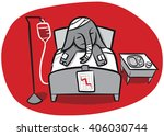 will the health care issue kill ... | Shutterstock .eps vector #406030744
