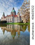 Stock photo  neus rathaus hannover the new town city hall 40603522