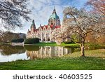 Stock photo  neus rathaus hannover the new town city hall 40603525