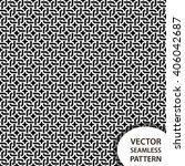 geometrical seamless pattern... | Shutterstock .eps vector #406042687