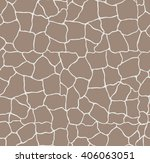 seamless  vector brown stone... | Shutterstock .eps vector #406063051