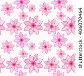 seamless floral pattern.... | Shutterstock .eps vector #406070464