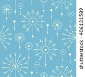 Seamless Flower Pattern With...