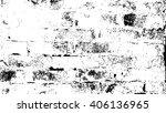 wall distress overlay texture... | Shutterstock .eps vector #406136965