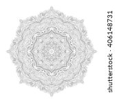 beautiful deco monochrome...   Shutterstock . vector #406148731