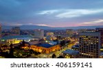 san jose  silicon valley  view... | Shutterstock . vector #406159141