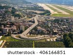 the view on road from sky. the...   Shutterstock . vector #406166851