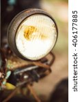 close up of old vintage retro... | Shutterstock . vector #406177885