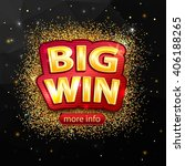 big win background. vector... | Shutterstock .eps vector #406188265