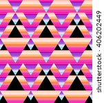 abstract geo triangles and...   Shutterstock . vector #406202449