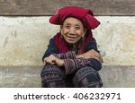 sapa  vietnam   march 2016  ... | Shutterstock . vector #406232971