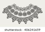 neck decoration  necklace ... | Shutterstock .eps vector #406241659