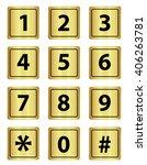 number keypad  metal ...