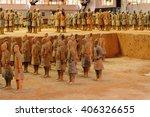 xian  china   mar 29  2016 ... | Shutterstock . vector #406326655