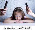 hands of internet and network...   Shutterstock . vector #406336021