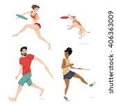 set of vector illustrations of...   Shutterstock .eps vector #406363009