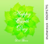 earth day | Shutterstock .eps vector #406391791