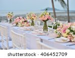 wedding set up | Shutterstock . vector #406452709