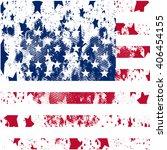 vector usa grunge flag. using... | Shutterstock .eps vector #406454155