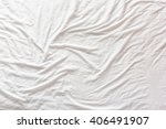 top view of wrinkles on an...   Shutterstock . vector #406491907