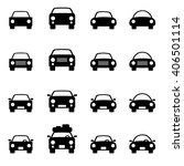 set 1 of icons representing car.... | Shutterstock .eps vector #406501114
