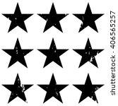 grunge stars  vector... | Shutterstock .eps vector #406565257