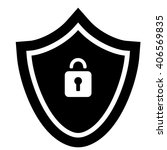 security black icon   Shutterstock .eps vector #406569835