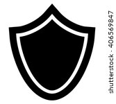 security black icon | Shutterstock .eps vector #406569847