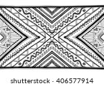 ethnic pattern hand drawn... | Shutterstock .eps vector #406577914