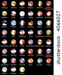 the european states official... | Shutterstock . vector #4066027