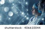 innovative technologies in... | Shutterstock . vector #406610044