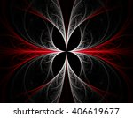 abstract fractal illustration... | Shutterstock . vector #406619677