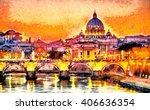 Colorful Illuminated San Peter...