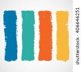 summer style grunge banners | Shutterstock .eps vector #406646251