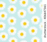 floral seamless pattern with... | Shutterstock .eps vector #406647361