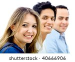 group of business people... | Shutterstock . vector #40666906