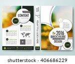 brochure design template vector.... | Shutterstock .eps vector #406686229