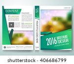 brochure design template vector.... | Shutterstock .eps vector #406686799