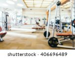 abstract blur fitness and gym... | Shutterstock . vector #406696489