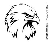 eagle head | Shutterstock .eps vector #406707457