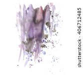 hand painted watercolor... | Shutterstock . vector #406712485