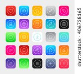social interface icons