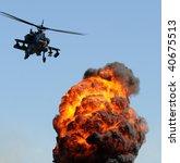 Attack Helicopter Delivering...