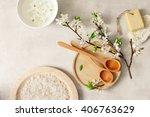 spa concept  spa background ... | Shutterstock . vector #406763629