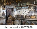 Old Traditional Kitchen Inside...