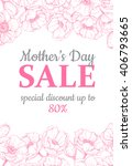 Mother's Day Sale Illustration...
