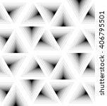 seamless white triangle pattern ...   Shutterstock .eps vector #406795501