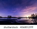 nightly reflections by the... | Shutterstock . vector #406801399